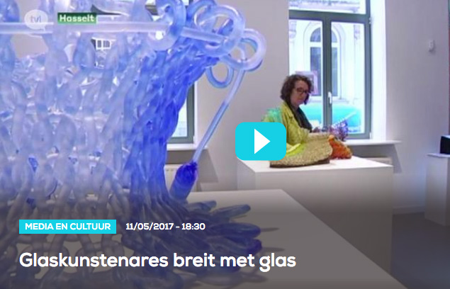 Presentation on TV Limburg | Solo exhibition Carol Milne