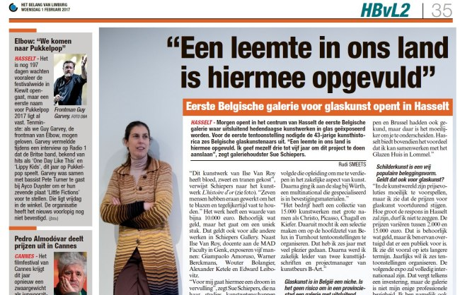Article in Belang van Limburg